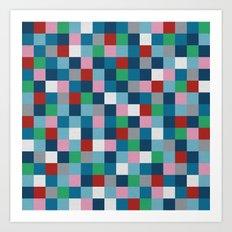 Colour Block #4 Art Print