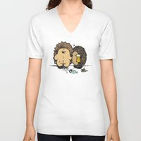 wasted rita V-neck T-shirts featuring Wasted by mangulica illustrations