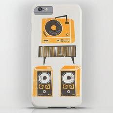 Vinyl Deck And Speakers Slim Case iPhone 6s Plus