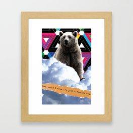 F**king Bear Framed Art Print