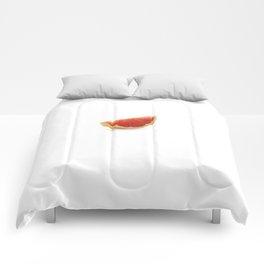 Grapefruit slice Comforters