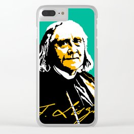 Franz Liszt (1811-1886) in 1886 (digital 2) Clear iPhone Case
