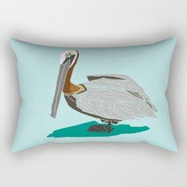 Mr. Pelican Rectangular Pillow