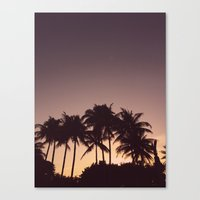 florida Canvas Prints featuring Florida by Whitney Retter