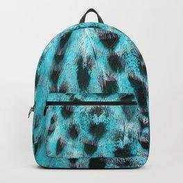 Blue plumage Backpack