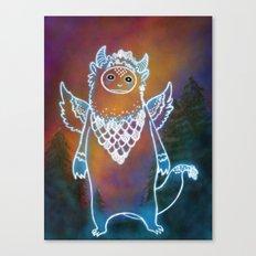 Glow Creature Canvas Print