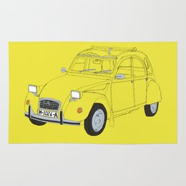 Citroën 2CV Rug