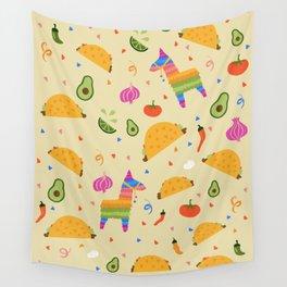 Taco Fiesta Wall Tapestry