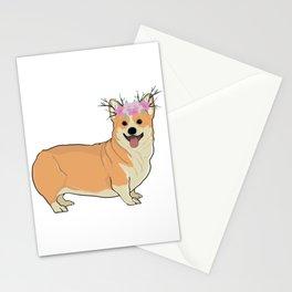 Corgi Design Stationery Cards