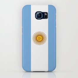 Flag of argentina -Argentine,Argentinian,Argentino,Buenos Aires,cordoba,Tago, Borges. iPhone Case