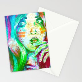 Energy Lines Stationery Cards