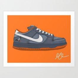 Dunk Sneaker Art Print