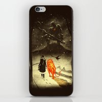 oz iPhone & iPod Skins featuring The Land Of Oz by Dan Burgess