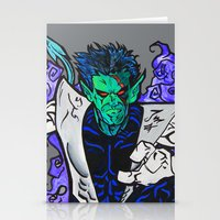 nightcrawler Stationery Cards featuring Nightcrawler by Hugo Maldonado