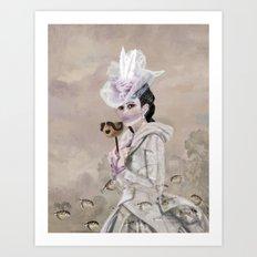 The Chattel Art Print