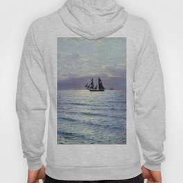 Sea 1898 By Lev Lagorio | Reproduction | Russian Romanticism Painter Hoody