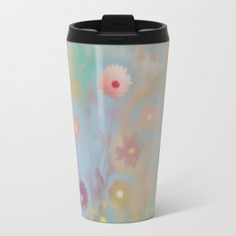 Pastel Daisies Travel Mug