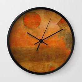Seara Vermelha Wall Clock