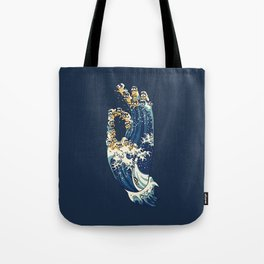 Jnana Mudra of Pug Tote Bag