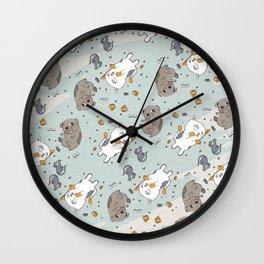 Pet Party Wall Clock