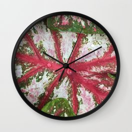 Heart of the Leaf Wall Clock