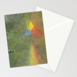 Les Origines, Rainbow and Pyramids landscape by Paul Serusier Stationery Cards