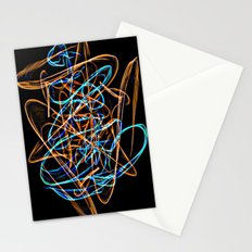 Silkweave / Neon Sigil 0 Stationery Cards