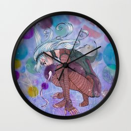 Witching Wall Clock