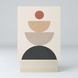 Geometric Modern Art 31 Mini Art Print