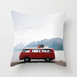 Travel life Throw Pillow