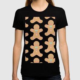 Cute Gingerbread Pattern T-shirt