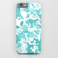 My Aqua butterflies iPhone 6s Slim Case