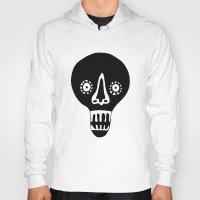 skulls Hoodies featuring Skulls by KatrinDesign
