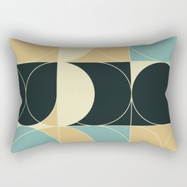 Abstract Geometric Artwork 35 Rectangular Pillow