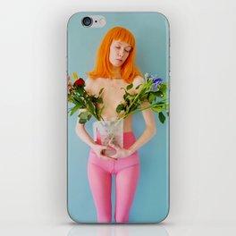 esmee as me with flowers iPhone Skin