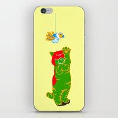 Here Battle Kitty Kitty iPhone & iPod Skin