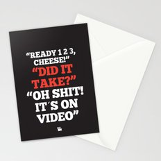 It´s on Video Stationery Cards