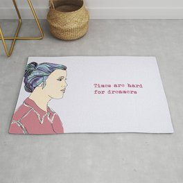 Hard For Dreamers (The St. Aurora) Rug