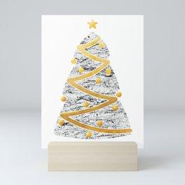 Christmas Tree 02 Mini Art Print