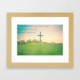 1 Corinthians. Framed Art Print