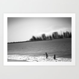 MARBEIRA 04 Art Print