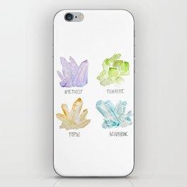 Rock collector iPhone Skin