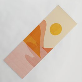 Abstraction_Lake_Sunset Yoga Mat