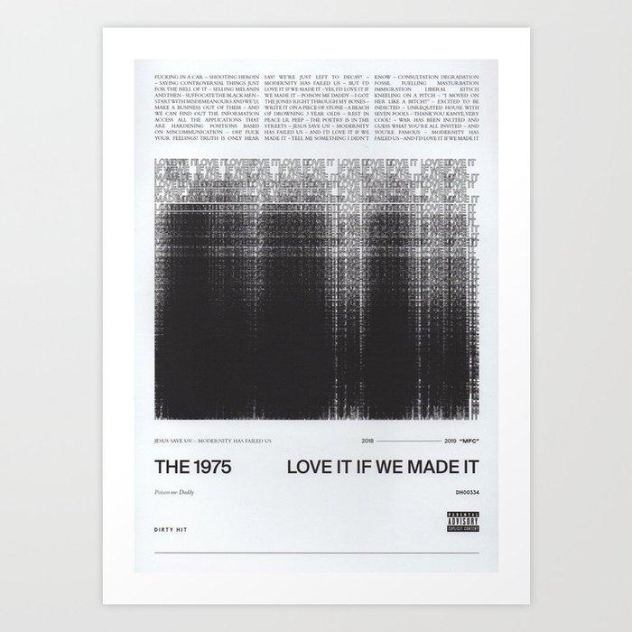 1975 love it if we made it Kunstdrucke