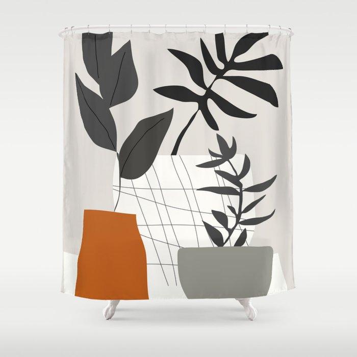 Plants Shower Curtain