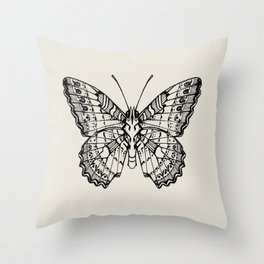 Lacewing Butterfly Throw Pillow