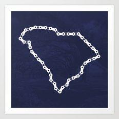 Ride Statewide - South Carolina Art Print