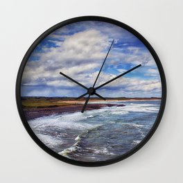 Coastal Daydreams Wall Clock