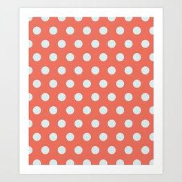 Dots collection IIII Art Print