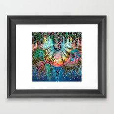 Holding Space Framed Art Print
